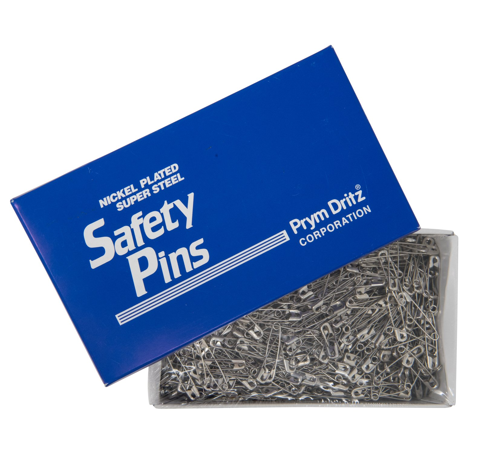 Dritz 512100 #2 Steel Safety Pins with Nickel Finish, 1-1/2'' (1,440-Pack) by Dritz