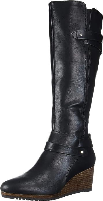 dr scholls wedge boots