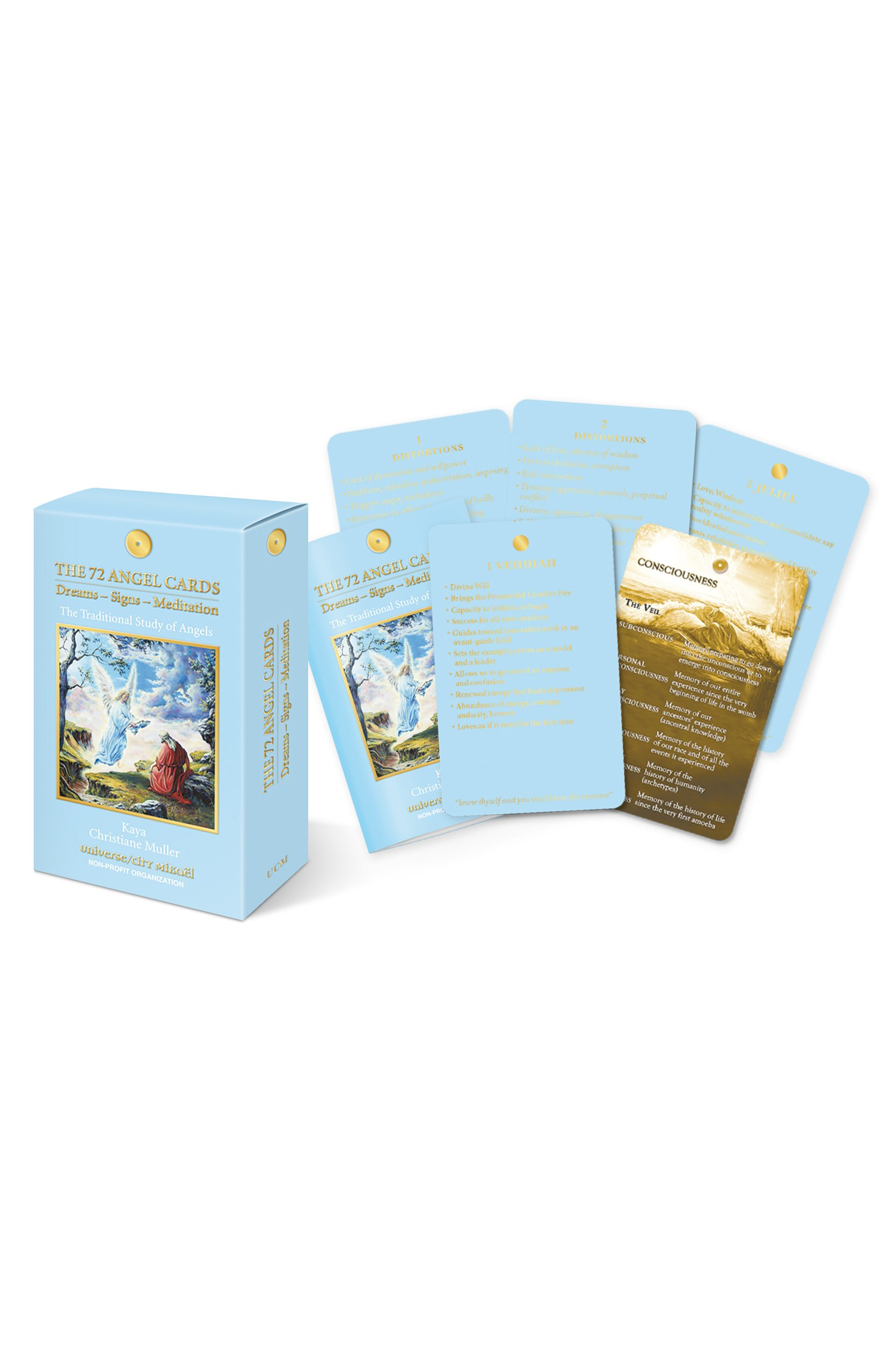 Angel Cards Dreams Signs Meditation Traditional Angels product image