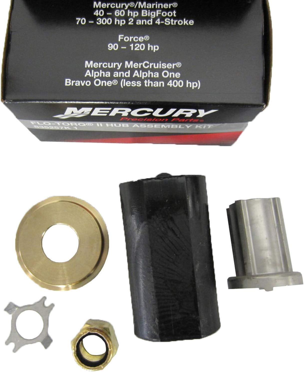 OEM Mercury Quicksilver Flo-Torq II Hub Kit WIth Bushing 835257Q6 See List