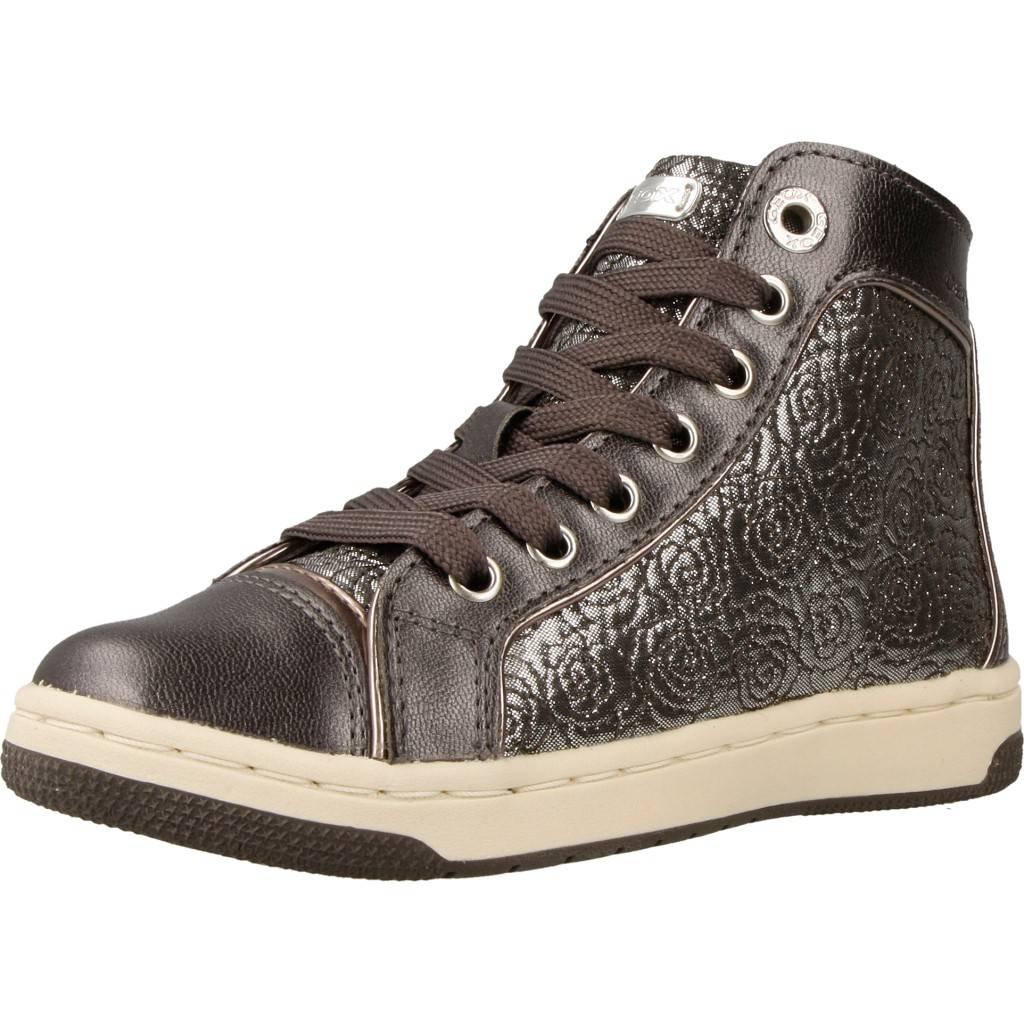 c53f1f85f9e714 Geox Girls' Jr Creamy E Hi-Top Sneakers: Amazon.co.uk: Shoes & Bags