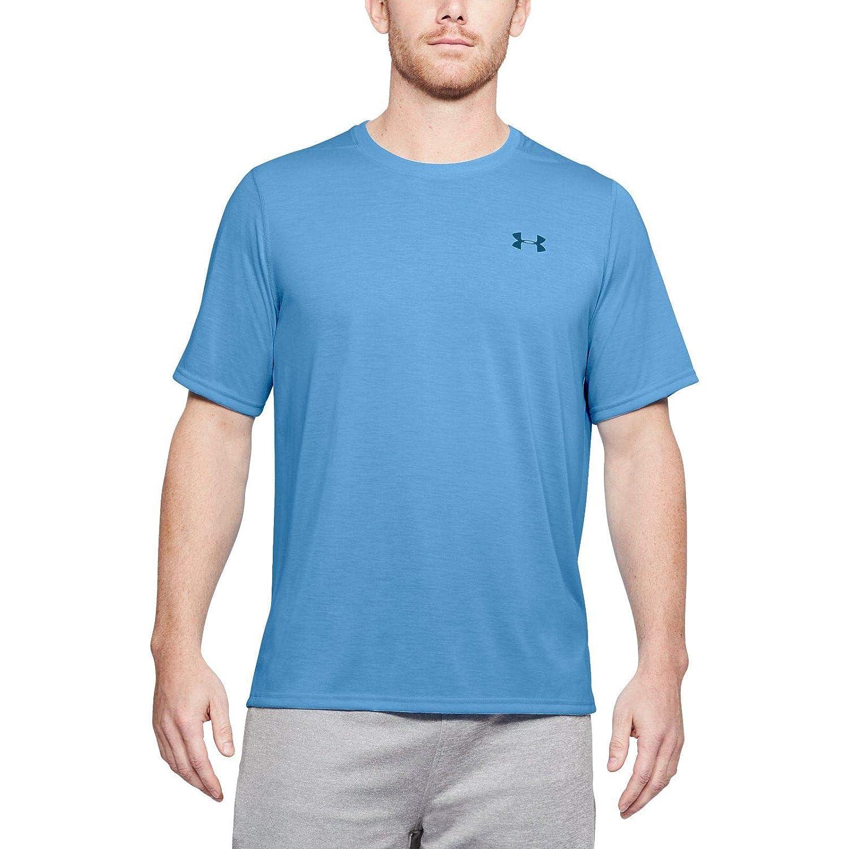 Under Armour – Maglietta Threadborne Siro t-Shirt, Uomo, blu blu, XL-T