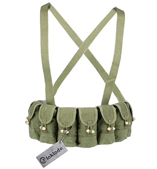 Review Loklode Chinese Military Surplus SKS Type 56 Semi Ammo Stripper Clips Chest Rig