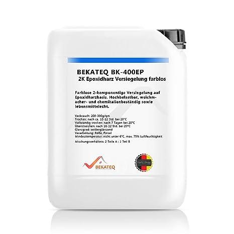 Favorit Bekateq BK-400EP 2K Epoxidharz Bodenversiegelung 4,5kg, farblos JR94