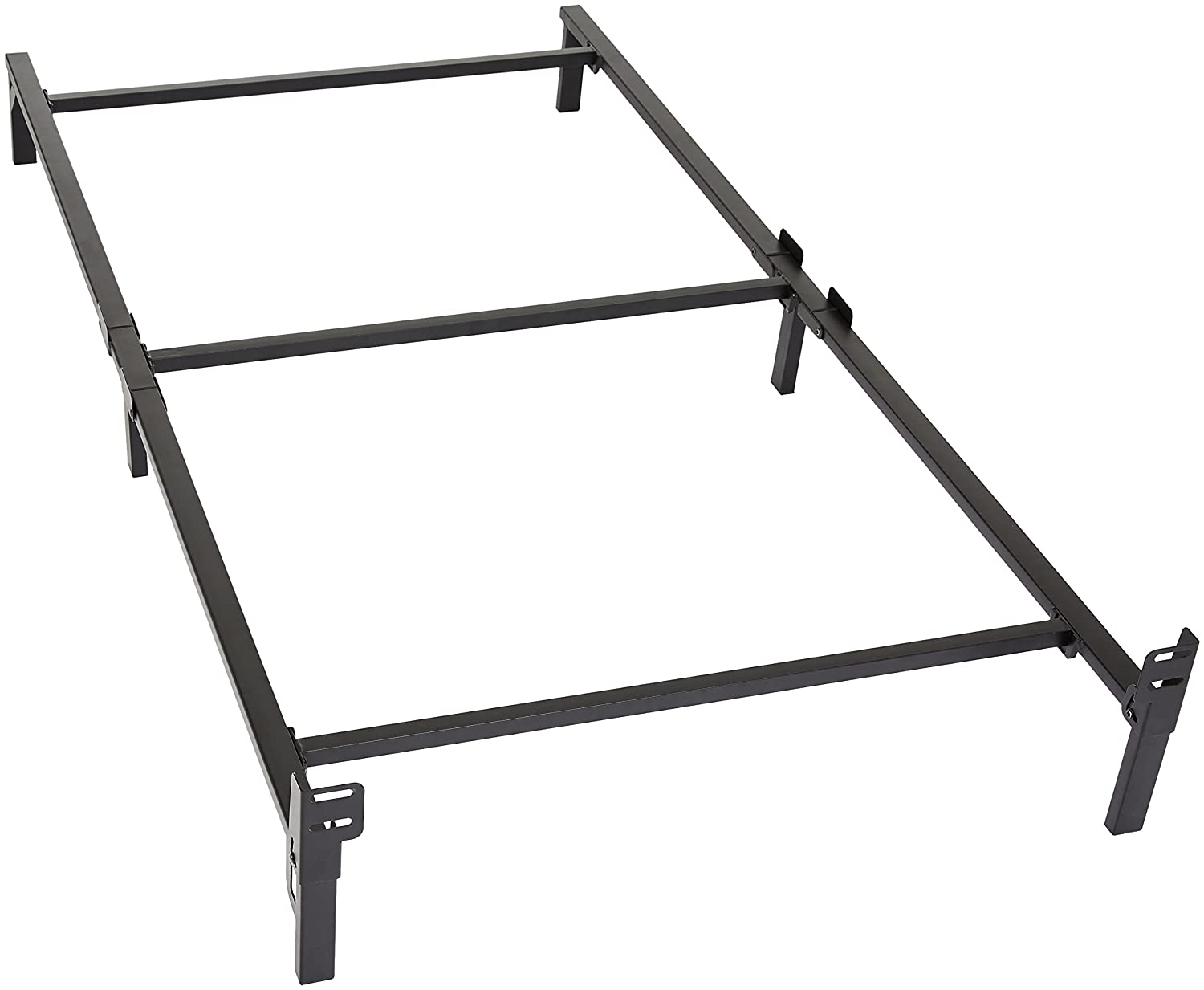 Amazon Basics 6 Legs Support Bed Frame, Strong Support for Box Spring and Mattress Set, Twin AmazonBasics AMZ-7ADSTBF-T