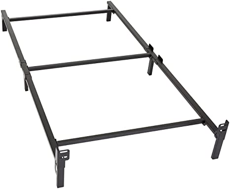 Amazon Com Amazon Basics 6 Leg Support Bed Frame Strong Support