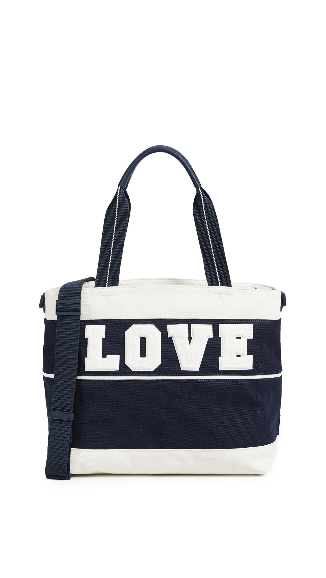 Tory Sport Women's Love Tote, Tory Navy/New Ivory, One Size