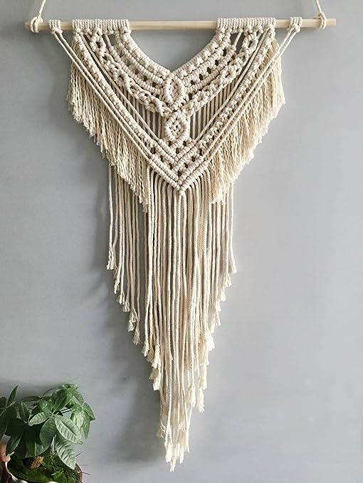 Amazon Com Youngeast Boho Handmade Bedroom Macrame Wall Hanging