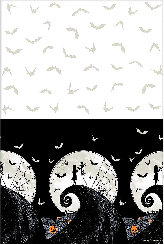"""amscan Halloween Parties, 54"""" X 96"""", Black"""