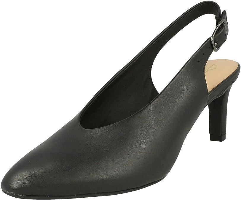 TALLA 36 EU. Clarks Calla Violet, Zapatos de Talón Abierto para Mujer