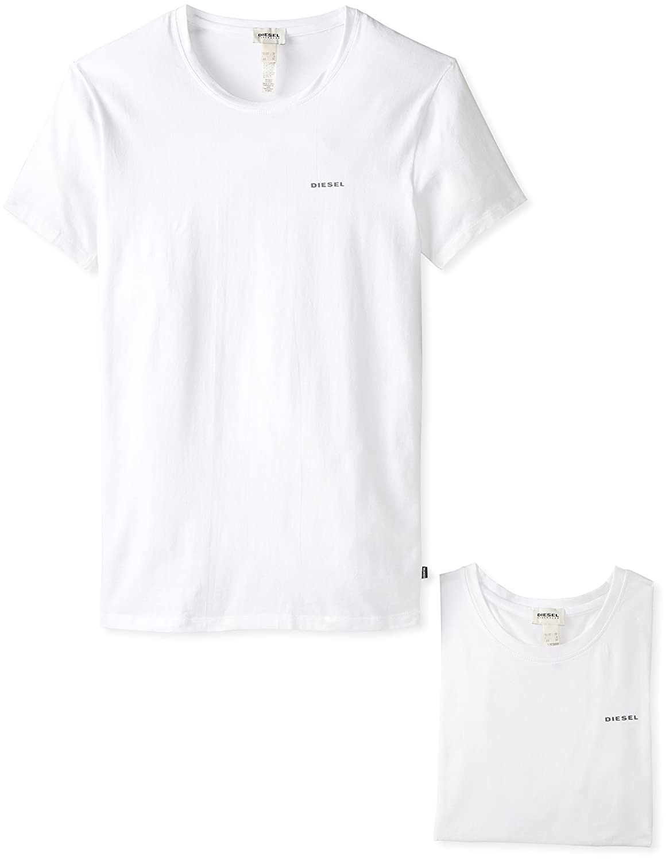 Diesel Men's Randal Two-Pack Crew-Neck Essential T-Shirt Diesel Men's Underwear 00SHGS0QAHE