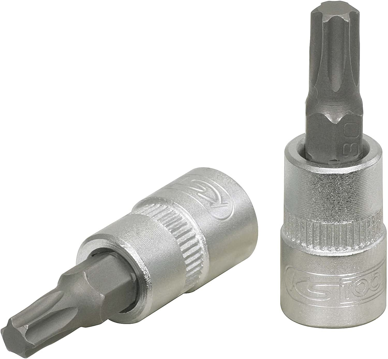 KS Tools 911.1443-E 1//4 Bit-Stecknuss Torx T15 auf H/änger