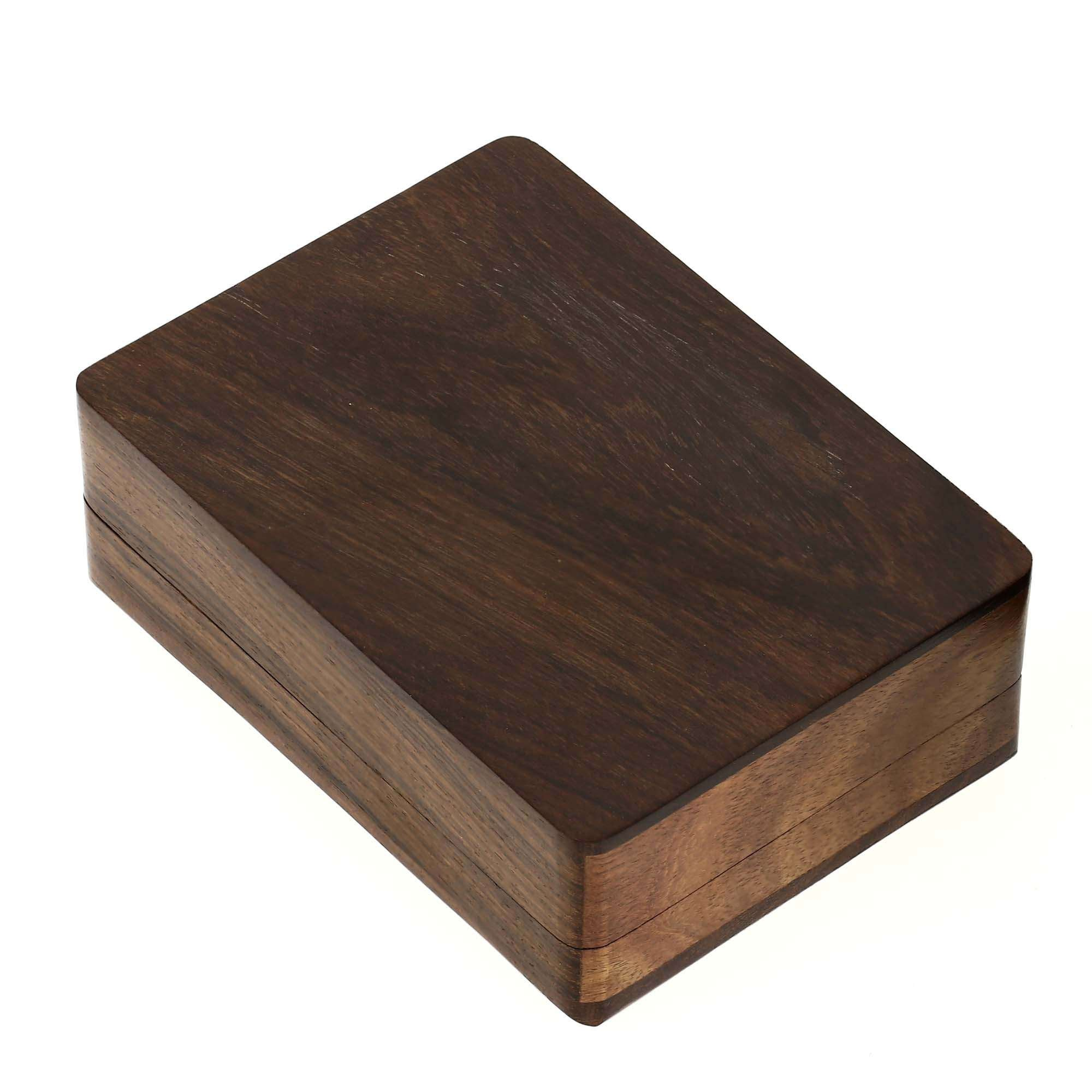 Wooden Boxes for Storage Playing Card Holder Artisan Crafted by ShalinIndia