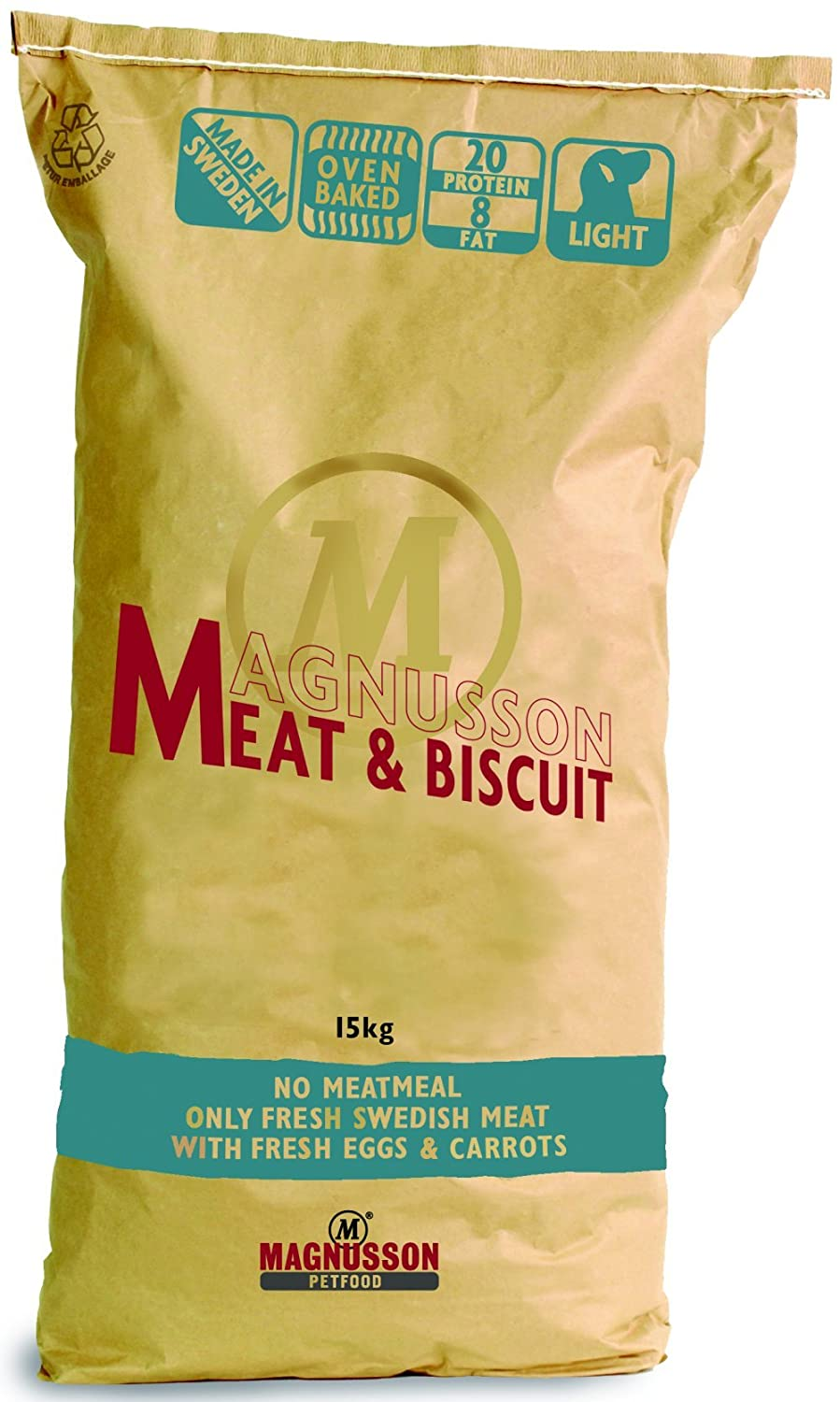 2 x 14 kg | Magnusson | Meat & Biscuit Light