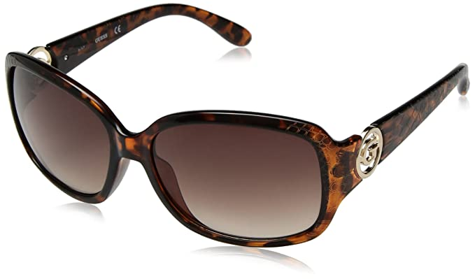 f0bc9e3b99 Image Unavailable. Image not available for. Color  GUESS Women s Acetate  Square Sunglasses ...