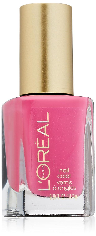 Amazon.com : L\'Oreal Paris Colour Riche Nail, Pink Me Up, 0.39 ...