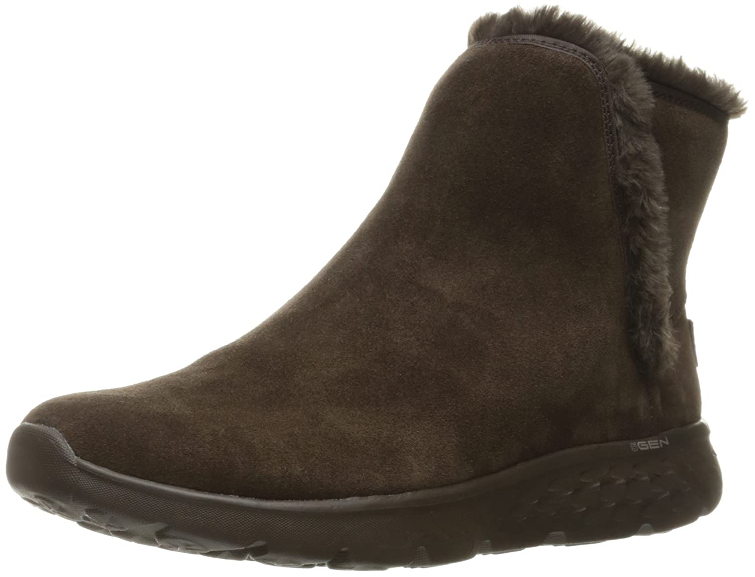 Skechers Damen on-The-Go 400 Blaze Kurzschaft Stiefel  35 EU|Schokoladenbraun