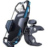 Andobil Bike Phone Mount,【Anti Shake & Super Stable】 Universal Handlebar Cellphone Holder for Bike Motorcycle Compatible…