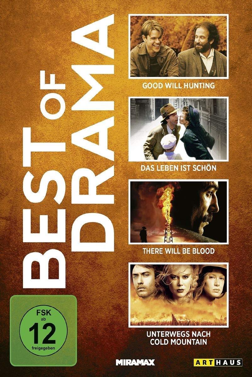 Best Of Drama Das Leben Ist Schon The Good Will Hunting There Will Be Blood U A 4 Dvds Amazon De Roberto Benigni Nicoletta Braschi Giustino Durano Matt Damon Robin Williams