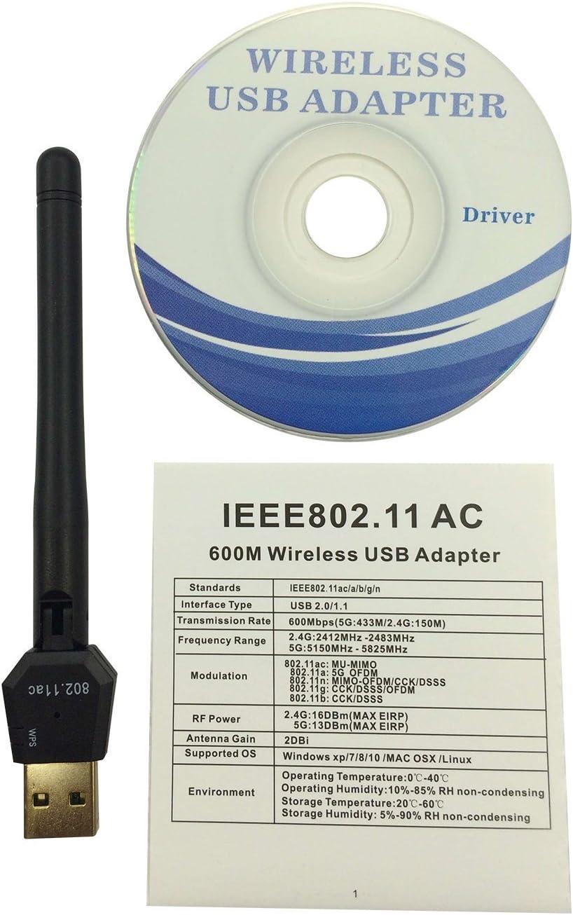EZS _ almacenar 150 Mbps USB inalámbrico Mag 250 mag 254 2dBi ...