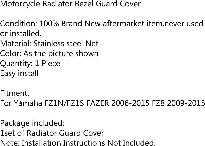 Areyourshop Griglia di protezione per radiatore Yamaha FZ1N//FZ1S FAZER 2006-2015 FZ8