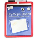 Magnetic Backed A4 Magnetic Dry Wipe Board Whiteboard With Pen