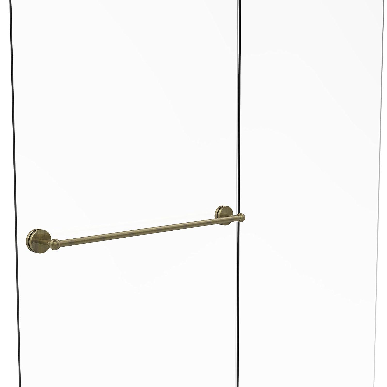 Allied Brass P1000-41-SM-30-ABZ Prestige Skyline Collection 30 Inch Shower Door Towel Bar Antique Bronze