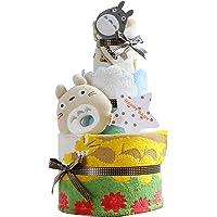 出生贺礼 吉卜力工作室 龙猫 2层 尿布蛋糕