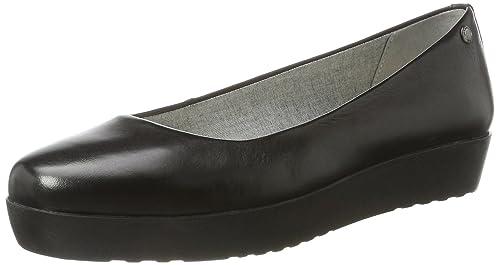 Vagabond VagabondEdie - Bailarinas Mujer, Color Negro, Talla 39 EU amazon-shoes el-negro Sin cierre