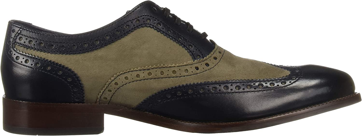 1700293 Cole Haan Mens Williams Wing Ii Blueberry//Magnet Wing Tips Size 14