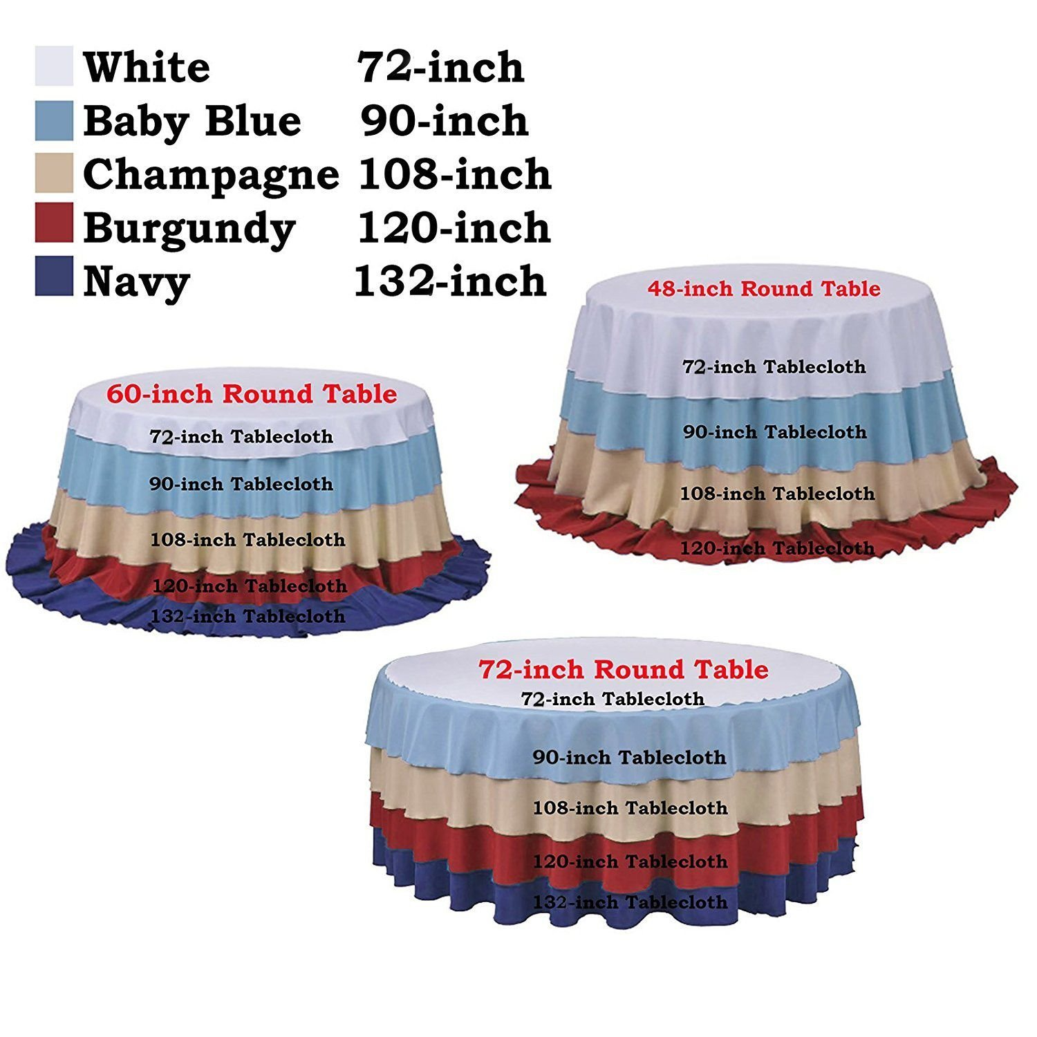 Ordinaire Amazon.com: SoarDream Rose Gold Cheap Sequin Tablecloth 72 Inch Round  Glitter Table Overlays For Wedding Party Sequin Decorations: Home U0026 Kitchen