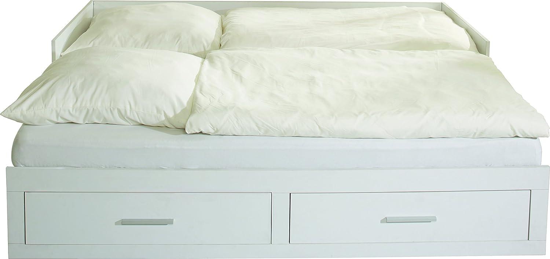 Tagesbett holz  Phönix 416204WE Tagesbett Holz 200 x 90 x 50 cm, weiß: Amazon.de ...