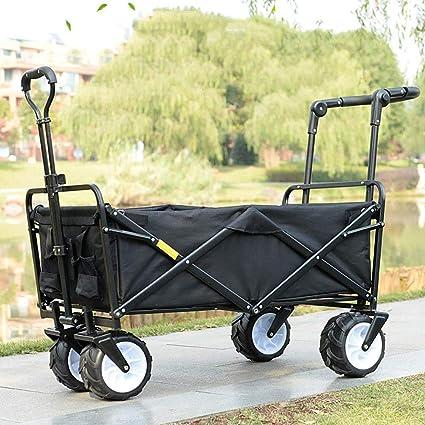 cdc0848dd52f Amazon.com : YAXuan Hand Trucks, Foldable Pull Garden Trolley ...