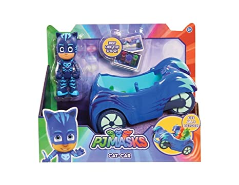 PJ Masks CAT-CAR - Just Like The Show - Fits All 3 Heroes!
