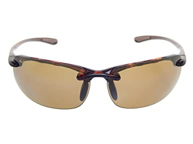 870084c70a Amazon.com: Maui Jim Banyans H412-10 Tortoise/HCL Bronze Polarized  Sunglasses: Clothing