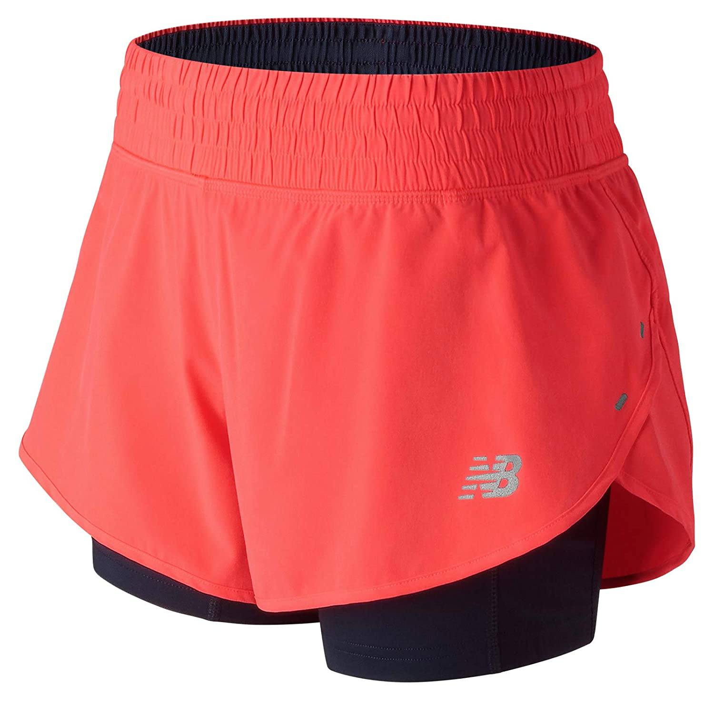 Mujer Pantalones cortos New Balance 4 Impact Short/Bermuda ...