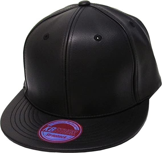 52d7494f841 KNW-1500 BLK PU Faux Leather Strapback at Amazon Women s Clothing store