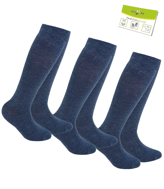2 or 3 Pack Boys knie Socks Knee Summer Branded One-tone Children Ewers 1 incl EW-64223-S17-JU0 EveryKid-Fashionguide