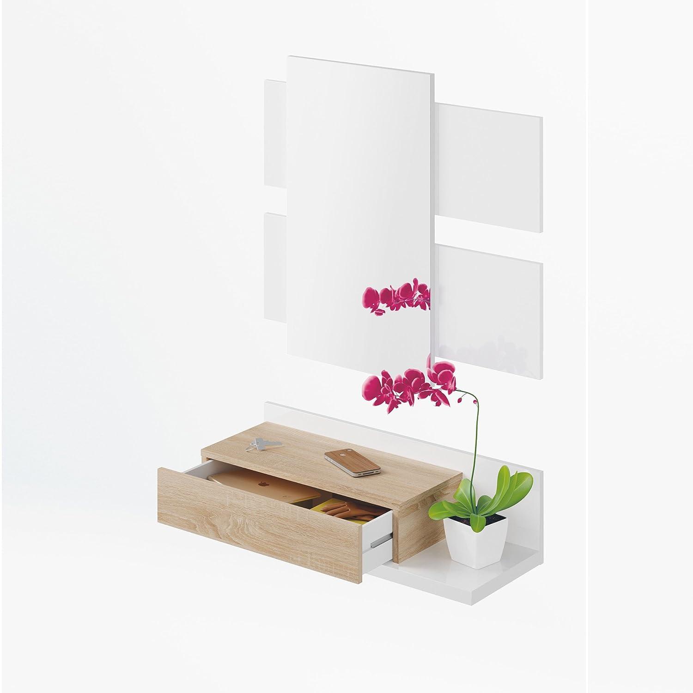 Conjunto de recibidor más espejo Habitdesign 0f6742BO