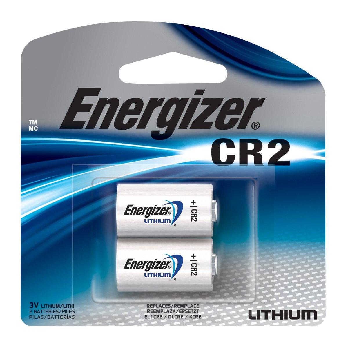 Energizer EL1CRBP-2 3-Volt Lithium Photo Battery (2-Pack) Energizer Batteries EL1CR2BP2