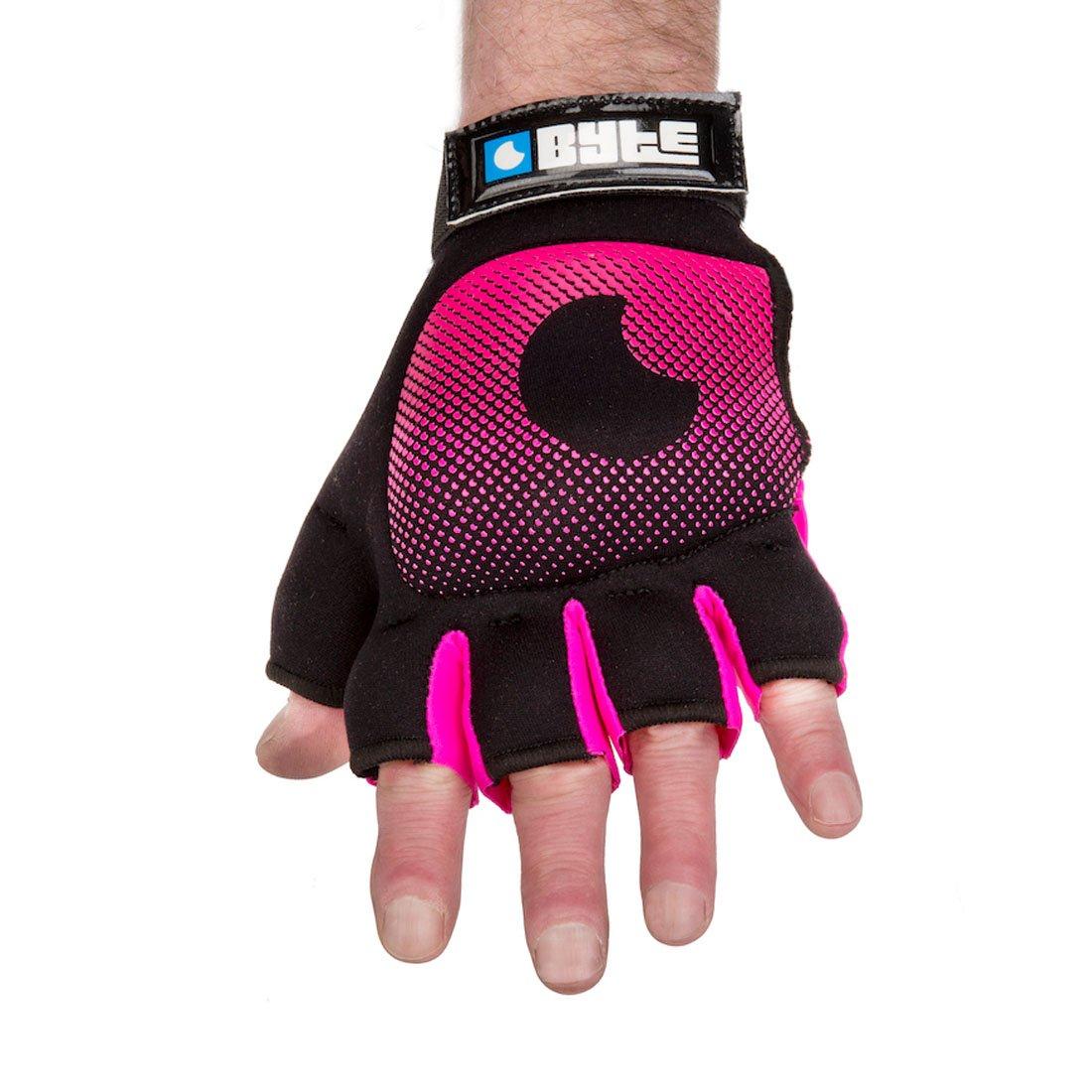 Byte Field Hockey Knuckle Glove Pink (Small)