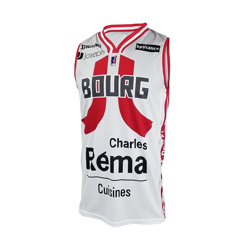 JL Bourg - Camiseta de Baloncesto Oficial 2019-2020 Unisex: Amazon ...
