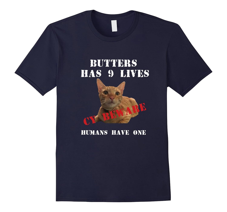 Butters-CY Free Range Kitten T-shirt-FL