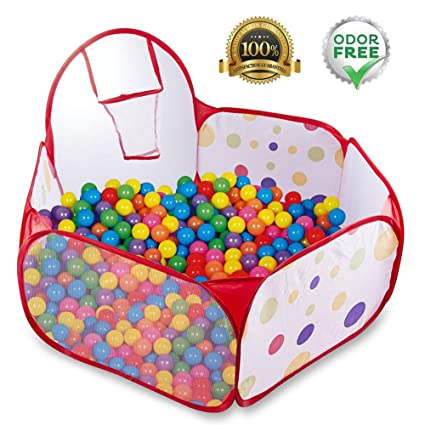 check out d459e 824c2 Amazon.com: Kids & Toddlers Ball Pit Ball Tent Pop Up ...