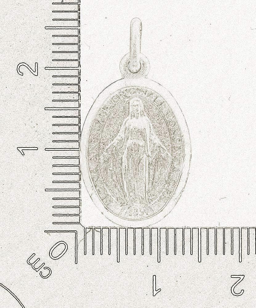 AFP Anh/änger Madonna Heilige Maria 925 Sterling Silber AS-526