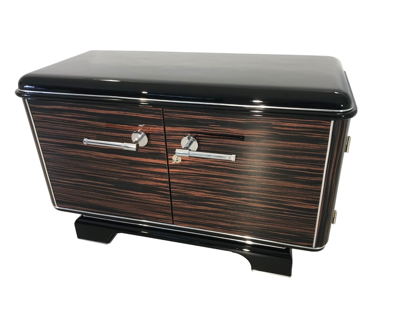 Amazon com oam macassar art deco design commode home kitchen