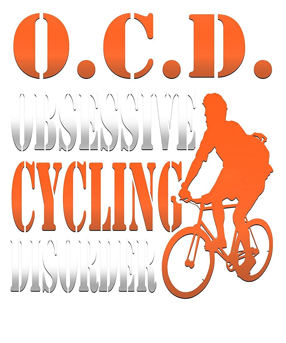OCD Bicycle Gift Shirts,Obsessive Cycling Disorder OCD Graphic T-Shirt