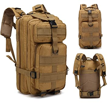 amazon military tacticalバックパックassault pack army molle bug