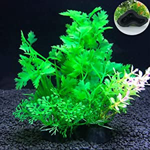 NiuChong Artificial Aquarium Fish Tank Water Plant Decoration Ornament-Simulation Flower Handicraft Landscape Making Aquarium Decor DIY Accessory Love Products