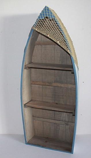 AAF Nommel ® Boot Regal 91 x 38 x 13 cm, Kiefernholz, Maritim ...